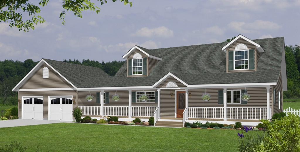 Vander berg homes custom modular home builders northwest for Modular cape cod house plans