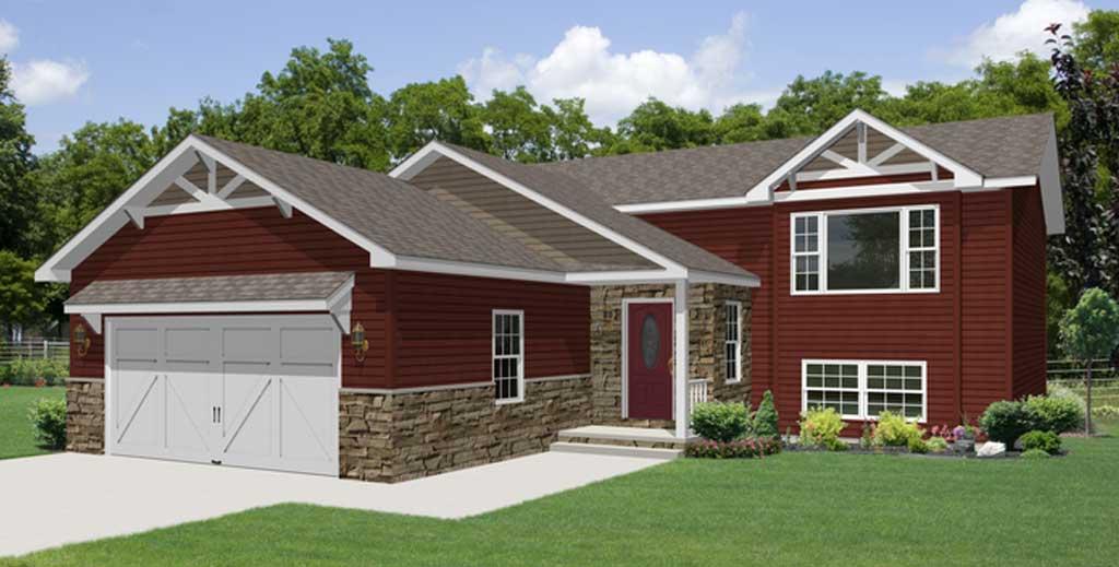 Vander berg homes custom modular home builders northwest for Bi level home