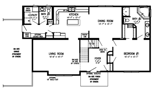 Vander Berg Homes Fully Customizable   Stratford Modular Homes   Sioux Center, Iowa